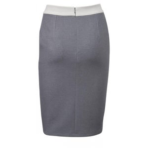 Image of Yaya Pencil Skirt - Dark Grey