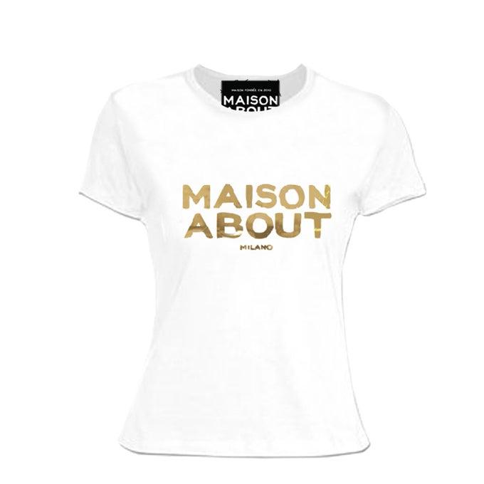 Image of T shirt Regular| Logo Gold