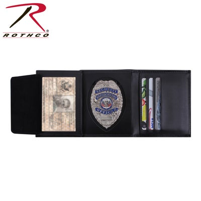 Image of Leather ID & Badge Wallet