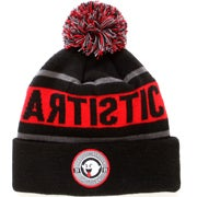 Image of Artistic Beanie - Red/Black