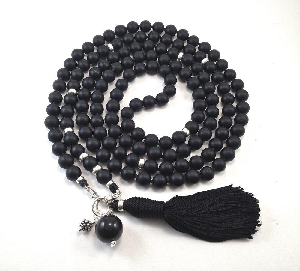 Image of Infinite Journey Black Onyx Mala