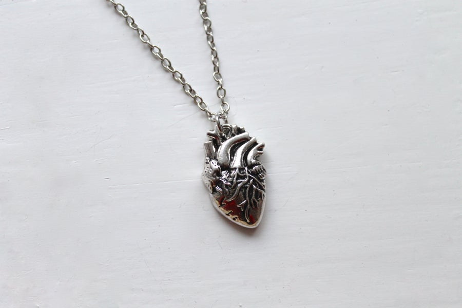 Image of Anatomical Heart Necklace