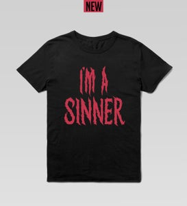 Image of 'SINNER' Tshirt