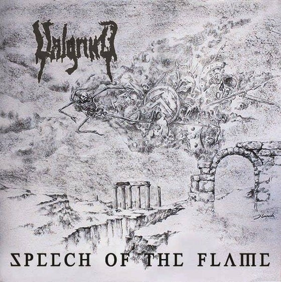 Image of SPEECH OF THE FLAME - CD jewelcase