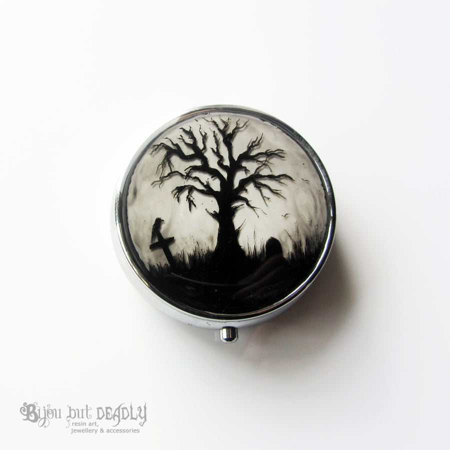 Image of Custom Painted Pill Box