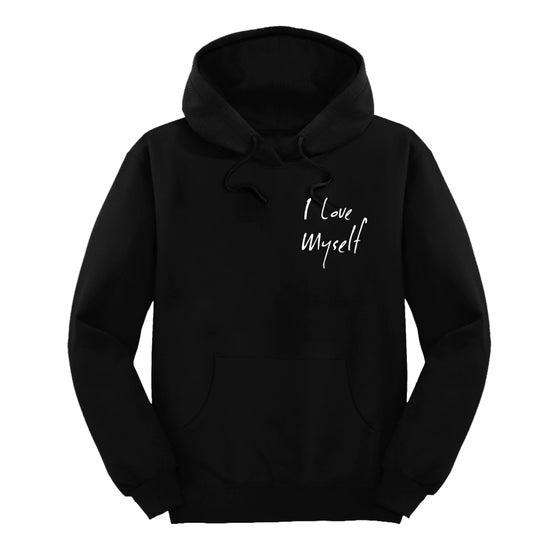 Image of Black I Love Myself hoodie