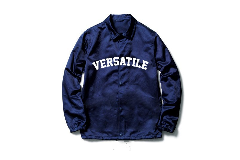 Image of VER$A Navy Blue Windbreaker
