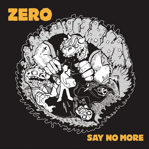 Image of ZERO 'say no more' EP COLOR VINYL