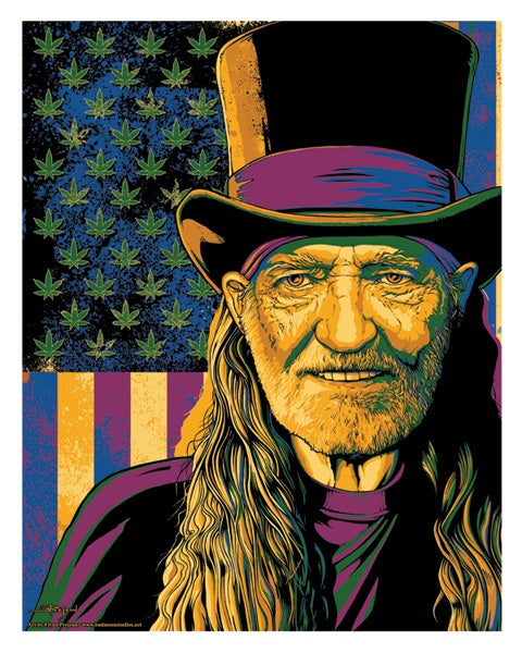 Image of Willie • Giclee Art Print
