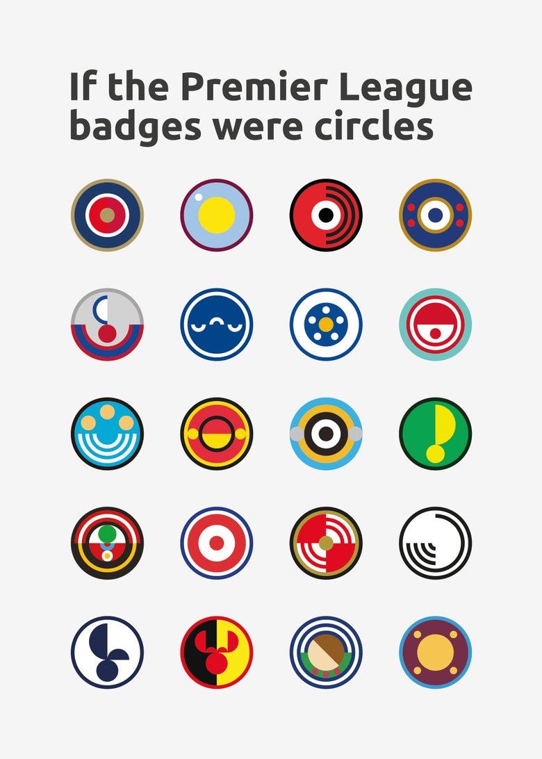 Image of Premier League Badges