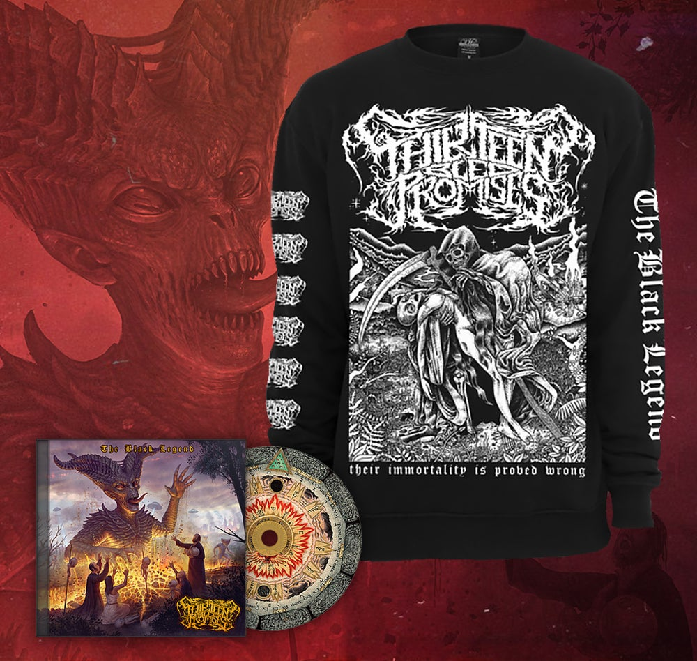 Image of Death Of An Alien - Crewneck Sweater + Album