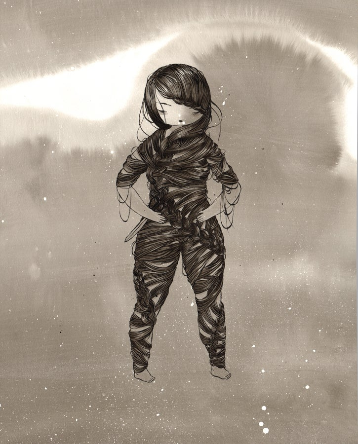 """Image of """"Her Suit"""" by Stasia Burrington"""
