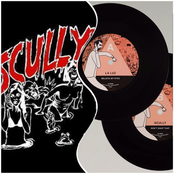 Image of Special! Scully Creep Shirt + LAMC NO. 16: La Luz/Scully 7""