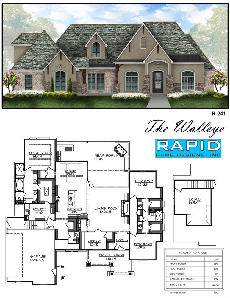 the walleye 2455sf rapid home designs