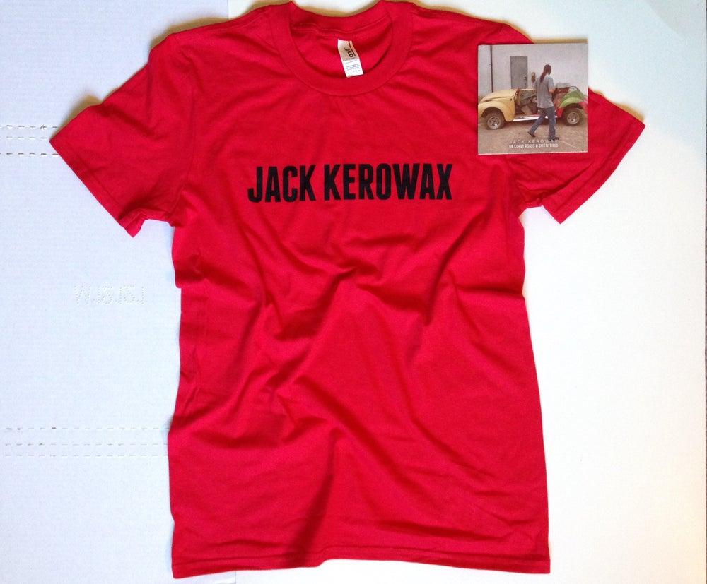 Image of Jack Kerowax Live EP + Tee Bundle