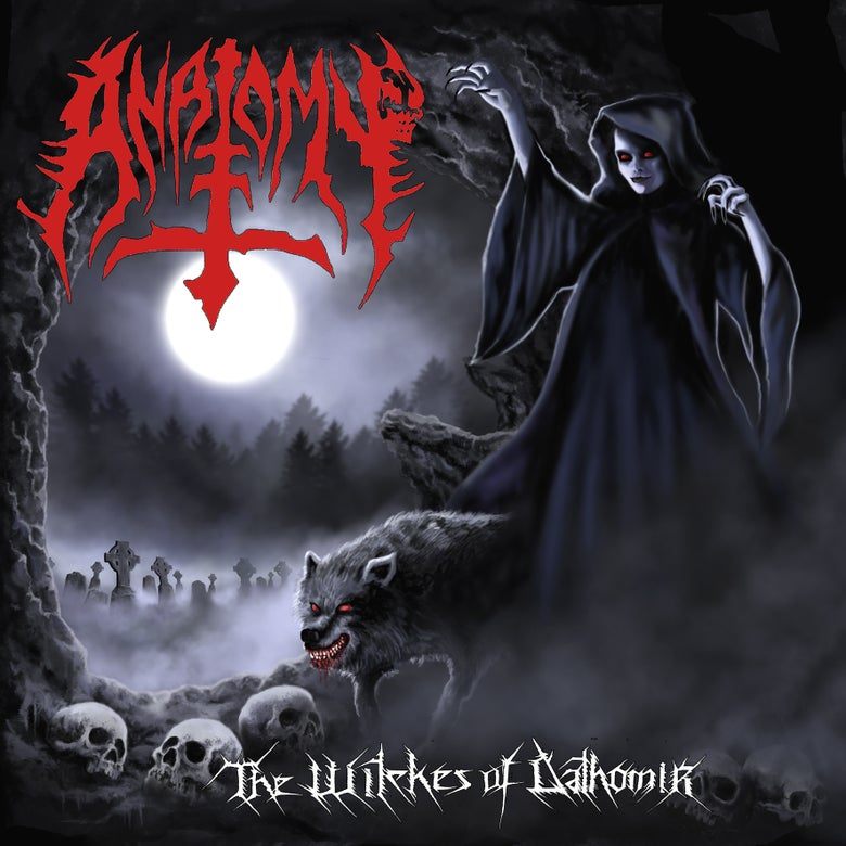 Image of ANATOMY - THE WITCHES OF DATHOMIR CD 2016 RE- ISSUE