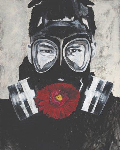 "Image of Limited Edition ""Gasmask"" Print"