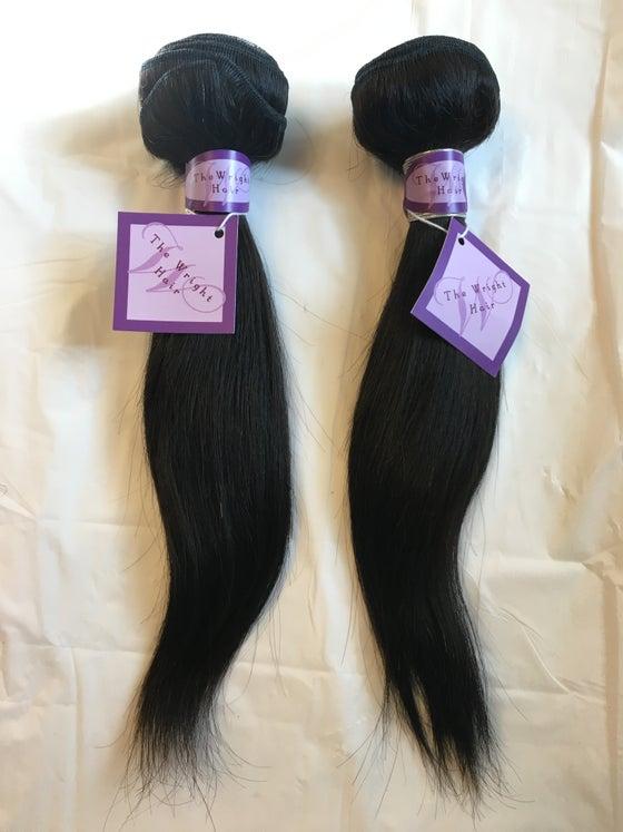 Image of 100% Virgin Human Hair  -Straight