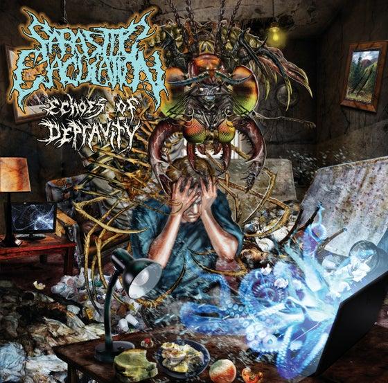 Image of Parasitic Ejaculation - Echoes of depravity