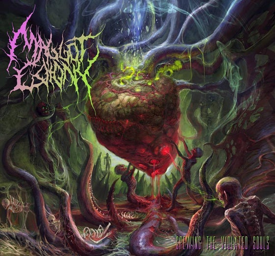 Image of Maggot Colony - Spewing te violated souls