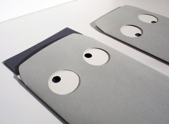 Image of 2 x The Villa - Envelope and Note Cards (all die cut)