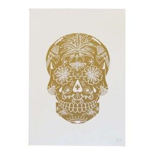 Image of <b>Gold Skull</b> <br> - <b>El Famoso</b>