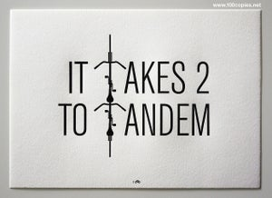 Image of It Takes 2 To Tandem