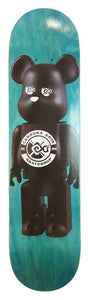 "Image of Carrera Arts ""Carrerabear Teal Stain"" Deck"
