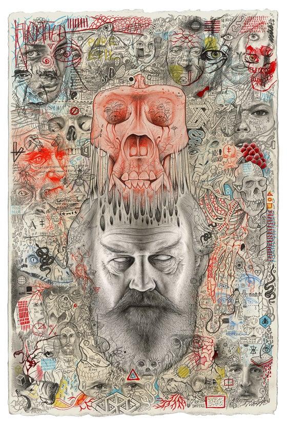 Image of 'Gods Ego' Giclee Art Print