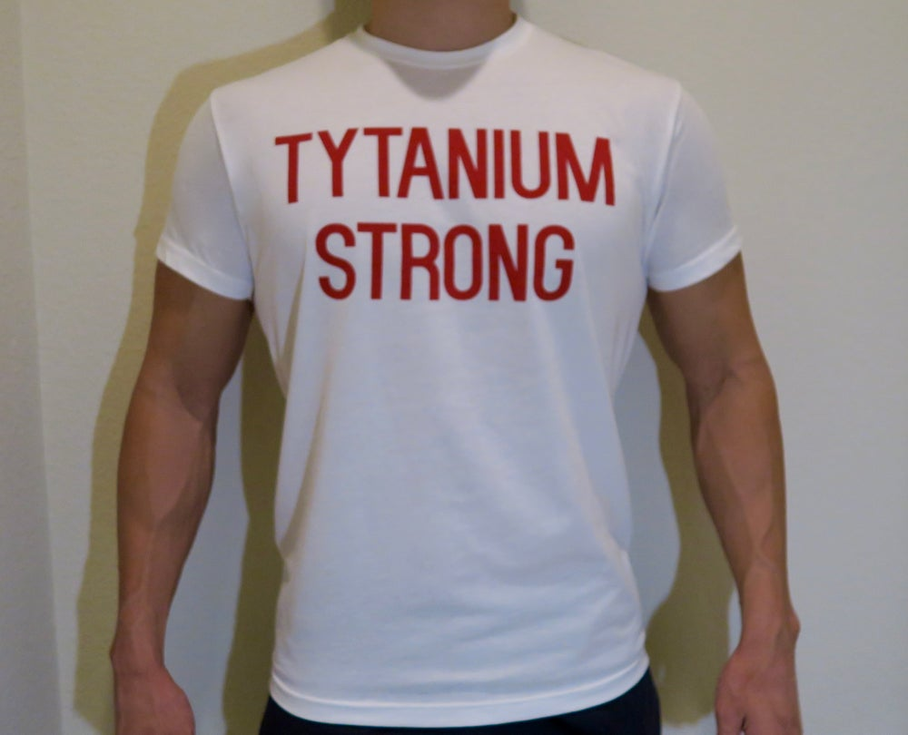 Image of Tytanium Strong White Tee