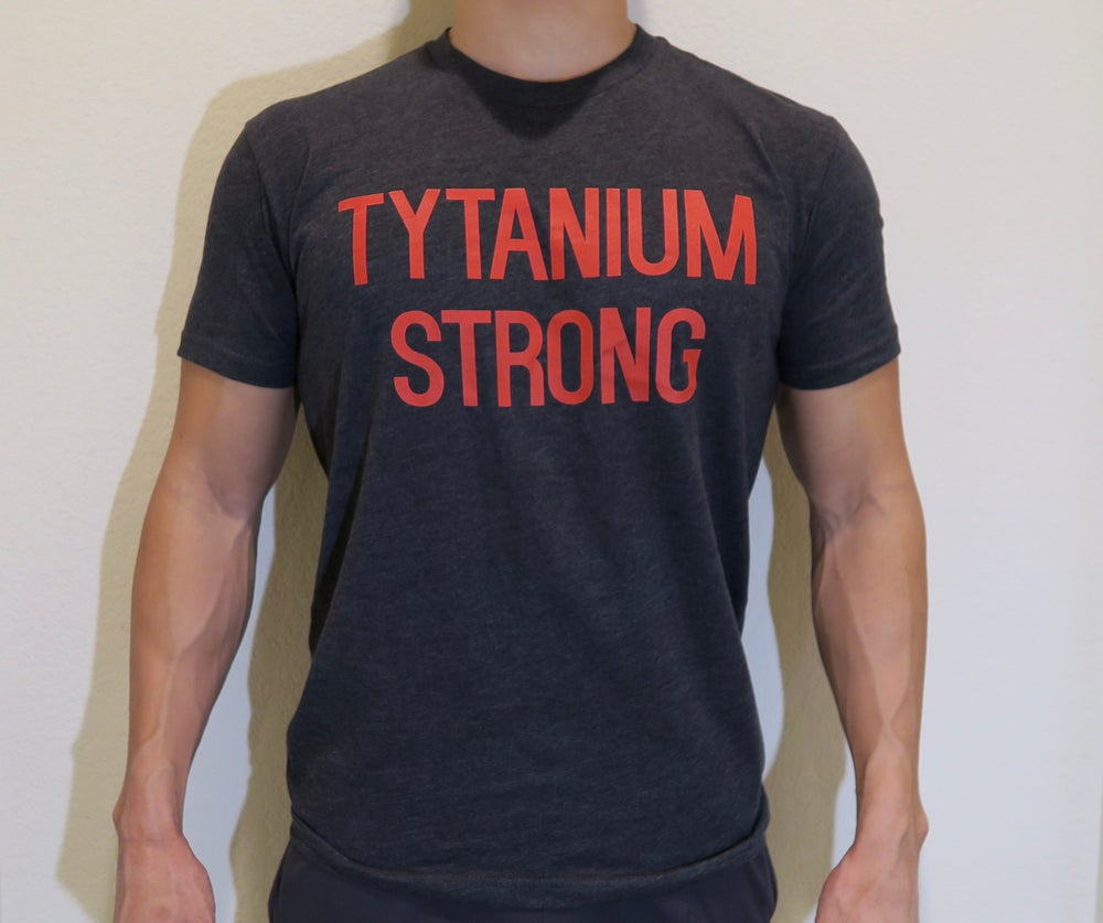 Image of Tytanium Strong Charcoal Tee