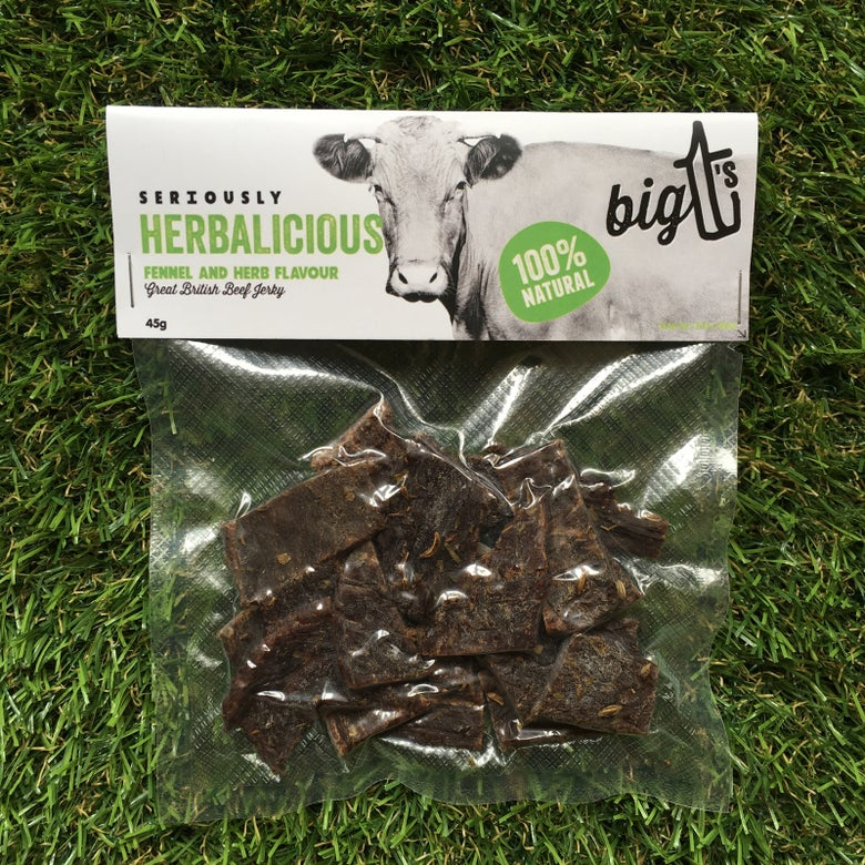 Image of Fennel & Herb Flavour Beef Jerky