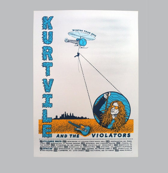 Image of Kurt Vile - Tür Poster