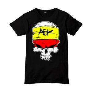 Image of ABK Cartoon Skull Tee