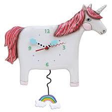 Image of Buttercup the Unicorn Clock