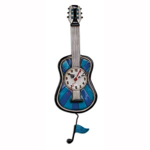 Image of Blue Tunes Guitar Clock