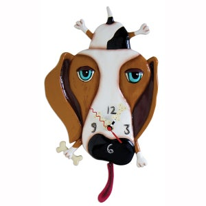Image of Buckley Dog Clock