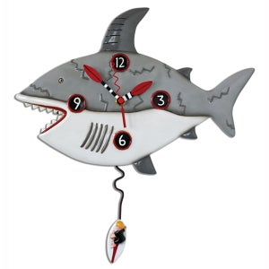 Image of Shark Clock