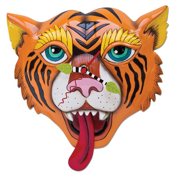 Image of Tiger Clock