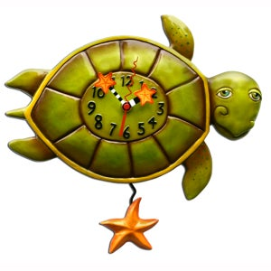 Image of Sheldon the Sea Turtle Clock