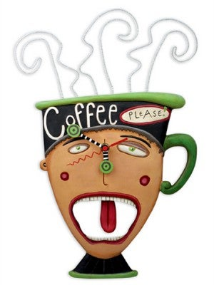 Image of Coffee Please Clock
