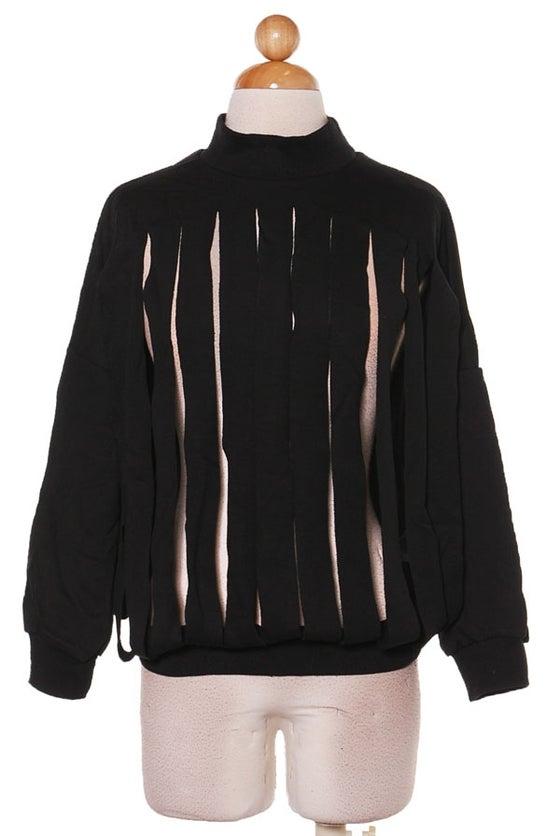 Image of All Black Slash Sweatshirt