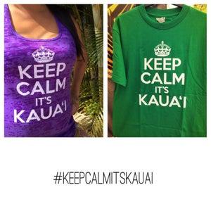 Image of Keep Calm It's Kaua'i