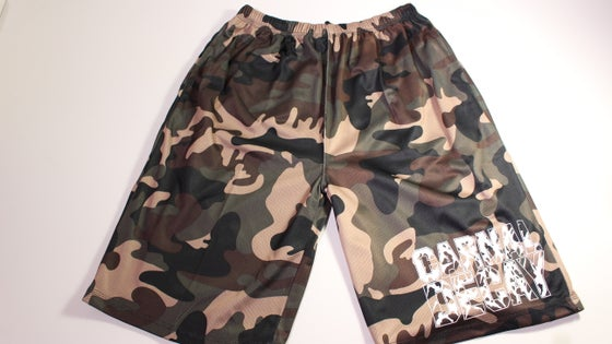 Image of Mesh Shorts CAMOUFLAGE