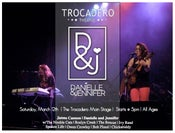 Image of Danielle and Jennifer at The Trocadero - Main Stage