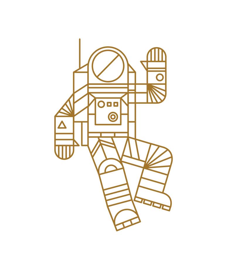 Image of Hello Spaceman Mug