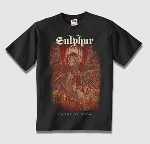 "Image of Sulphur ""Omens of Doom"" t-shirt"