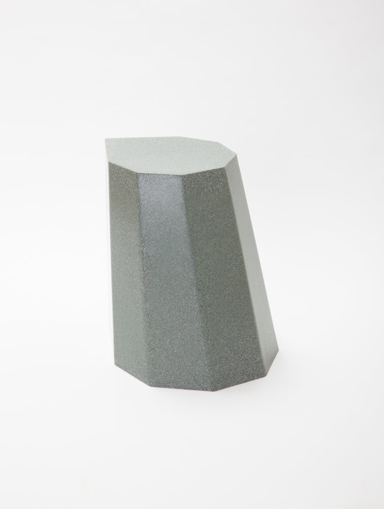 Image of Arnold Circus Stool Green Marble