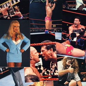 Image of WWF SMACKDOWN WRESTLING CARDS 1999
