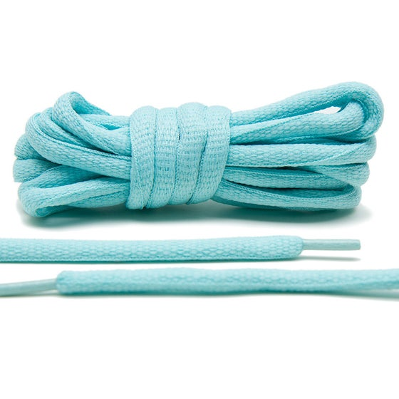 "Image of Exclusive ""Tiffany Mint"" Oval Laces"